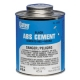 16 OZ ABS CEMENT - BLACK