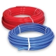 PEX-B TUBING RED 1/2IN ID X 100FT COIL