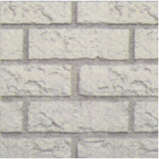 BRICK PANEL - COL  WHITE