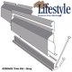 LSTYLE TRIM KIT-GRAY