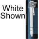 STORM DOOR CLOSER - WHITE
