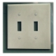 PLATE, SWITCH, STD, DBL - WHITE