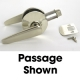 LOCK  LEVER PASS  SATIN NICKEL