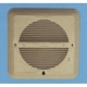 GRILLE F/ 2-3/4-IN THRU 4-IN, WHITE