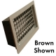 FOUNDATION VENT - BROWN